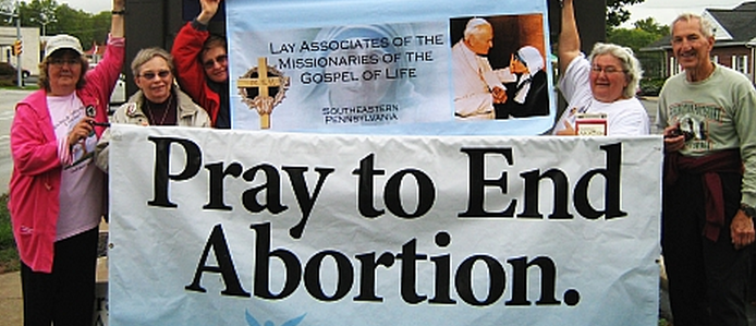 Christians against abortion